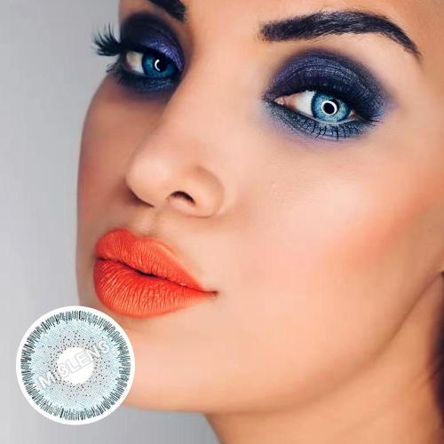 【LENSPOEM】Magic Blue Colored Contact Lenses