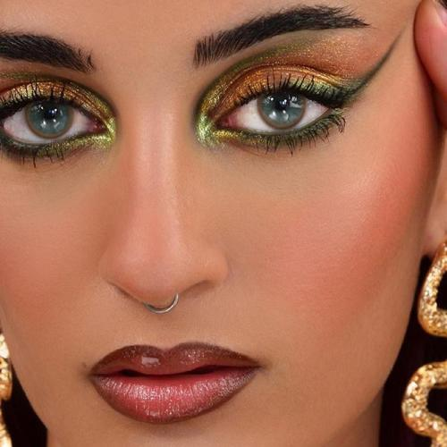 【LENSPOEM】Nuqi Brown  Colored Contact Lenses