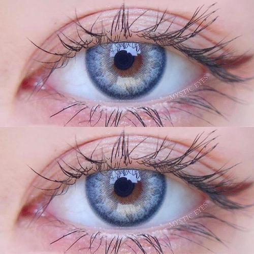 Angeltouch Blue  Prescription Colored Contact Lenses