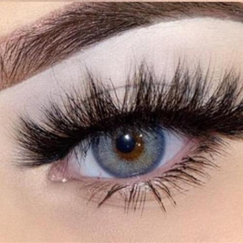 Wildcat Blue Prescription Colored Contact Lenses