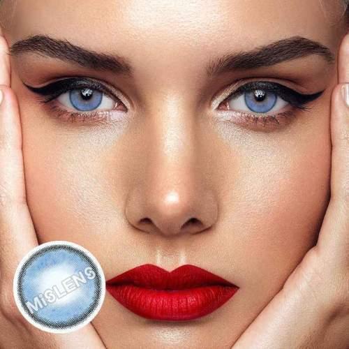 Sorayama Blue Colored Contact Lenses
