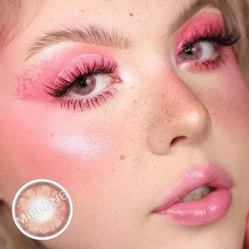 Gem pink Contact Lenses