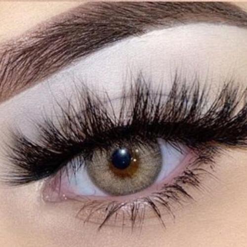 【LENSPOEM】Wildcat Brown Prescription Colored Contact Lenses
