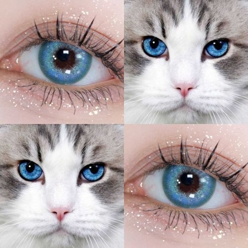 【NEW】Mermaid Starry Colored Contact Lenses
