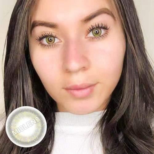 【LENSPOEM】Mermaid Gray Colored Contact Lenses