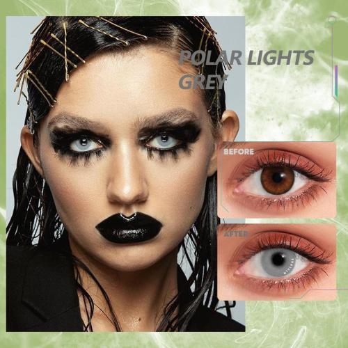 【U.S Warehouse】Polar Lights Grey Contact Lenses