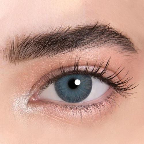 【LENSPOEM】New York PRO N Gray Colored Contact Lenses