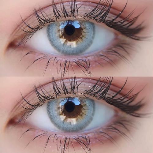 【LENSPOEM】HOKKAIDO Grey Colored Contact Lenses
