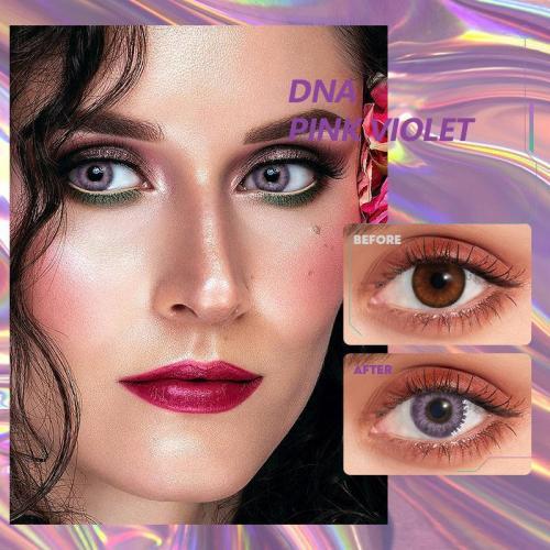 DNA Taylor pink violet Contact Lenses