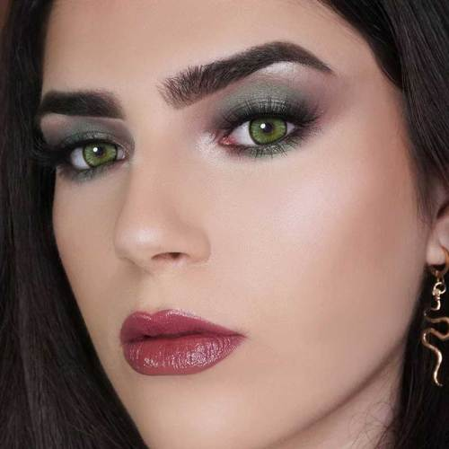 Mirage Green Prescription Colored Contact Lenses