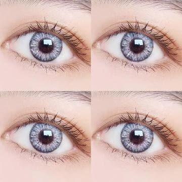 【LENSPOEM】Sliver brown Daily Contatc Lenses