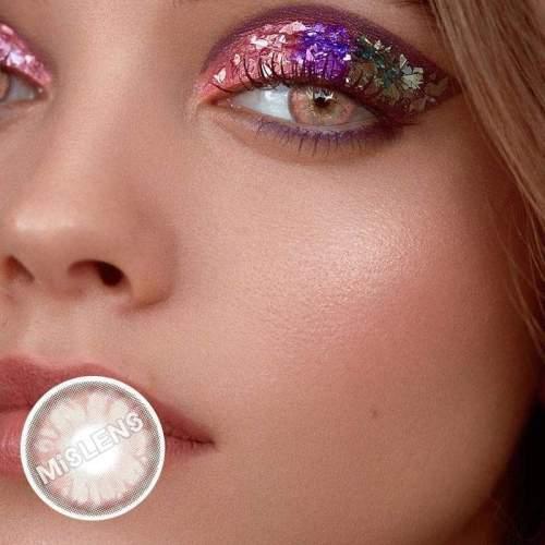 【LENSPOEM】Gem Pink Colored Contact Lenses