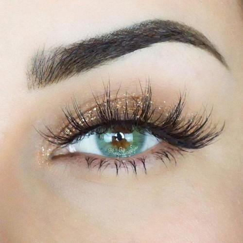 【LENSPOEM】Caramelize Grey Colored Contact Lenses