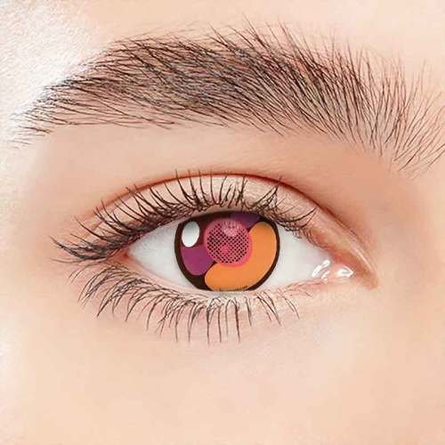 【LENSPOEM】Cherry Cat Crazy Contact Lenses