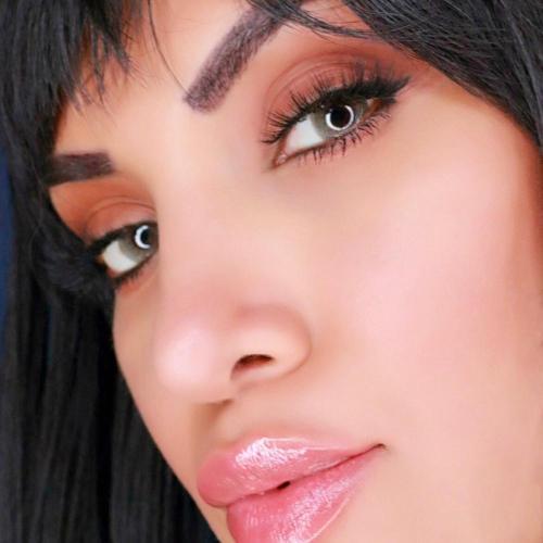【LENSPOEM】Mild Gray Caramel Colored Contact Lenses