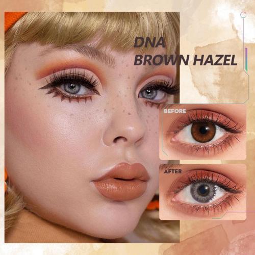 DNA Taylor brown hazel Contact Lenses