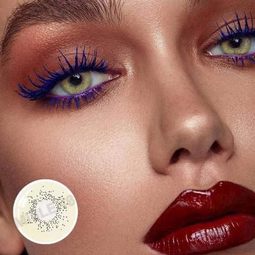 【LENSPOEM】Mermaid Ocean Jade Colored Contact Lenses