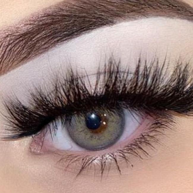 Russian Grey Prescription Colored Contact Lenses