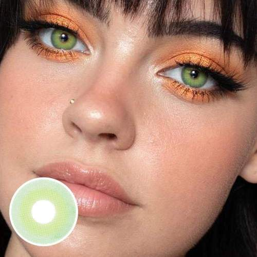【US Warehouse】 Pixie Green  Colored Contact Lenses  Yearly