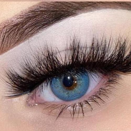 【LENSPOEM】Russian Blue Prescription Colored Contact Lenses