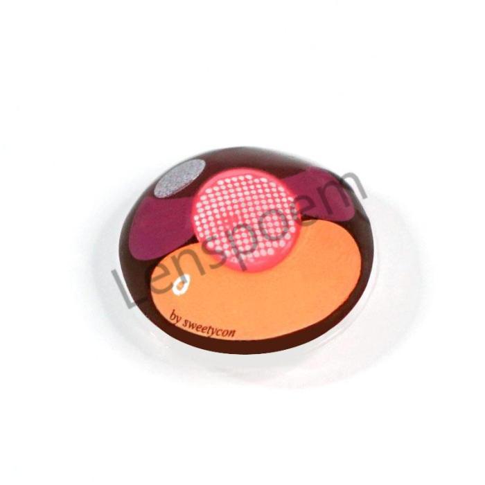 Cherry Cat Crazy Contact Lenses