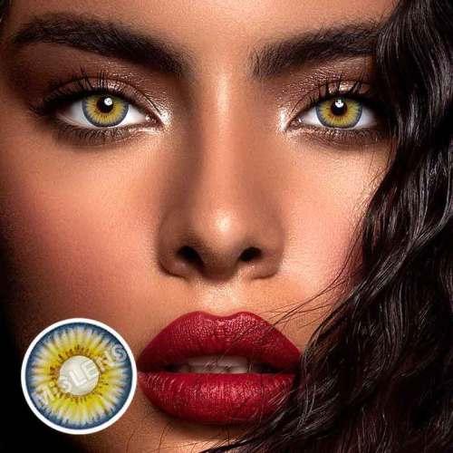 【LENSPOEM】New York Rihanna Colored Contact Lenses