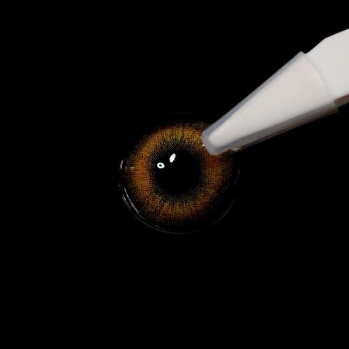 【LENSPOEM】Mermaid brown Prescription Colored Contact Lenses