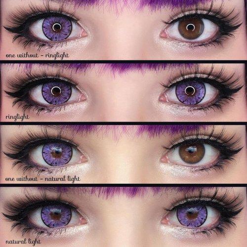 【 LENSPOEM Exclusive】Legacy Purple Colored Contact Lenses