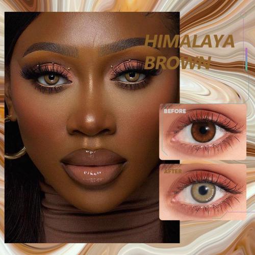 Himalaya brown Contact Lenses