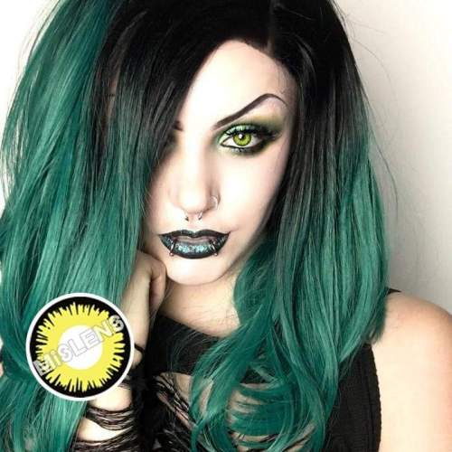 【LENSPOEM】Solar Eclipse Halloween Contact Lenses