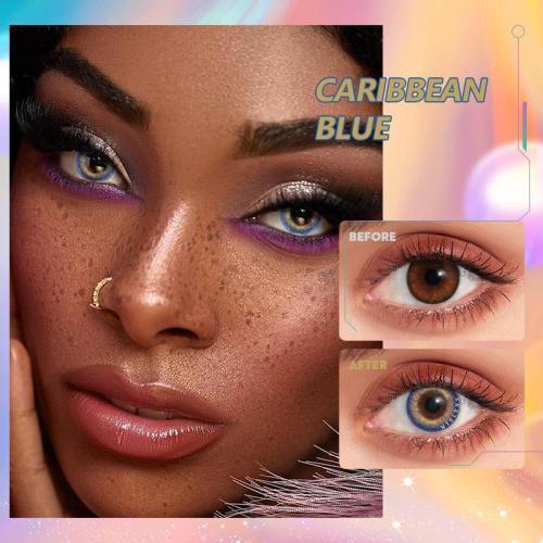 Caribbean blue Contact Lenses