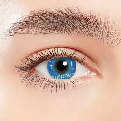 Spark Blue Contact Lenses Yearly