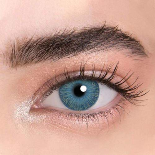 【LENSPOEM】New York PRO Blue Colored Contact Lenses