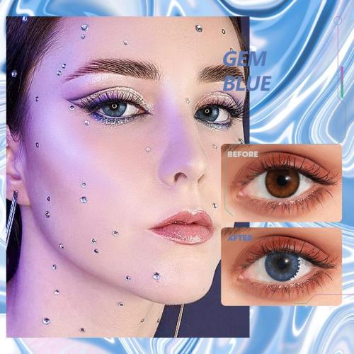 Gem blue Contact Lenses
