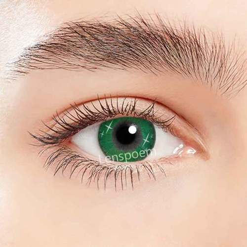 Spark Green Contact Lenses Yearly