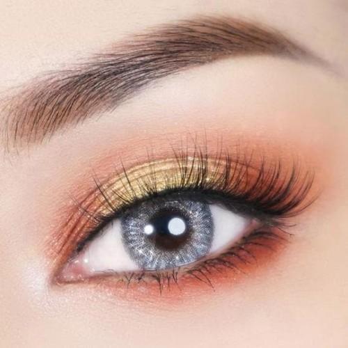 Sliver brown Daily Contatc Lenses
