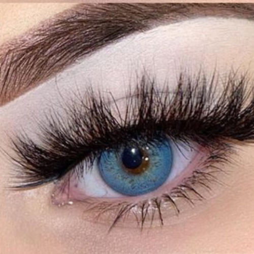 Russian Blue Prescription Colored Contact Lenses