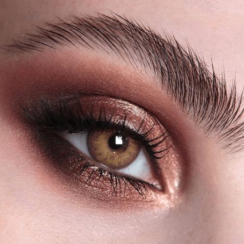 【LENSPOEM】MULAN Brown Colored Contact Lenses