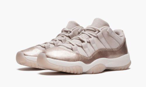 Womens Air Jordan 11 Retro Low  Rose Gold