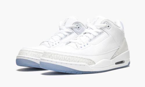 Air Jordan 3 Retro  Pure White