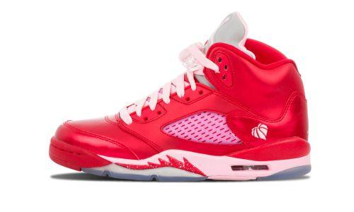 Girls Air Jordan 5 Retro (GS)  Valentine's Day