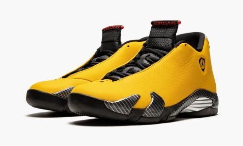 Air Jordan 14  Yellow Ferrari