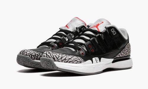 Zoom Vapor AJ3  Black/Cement Jordan 3