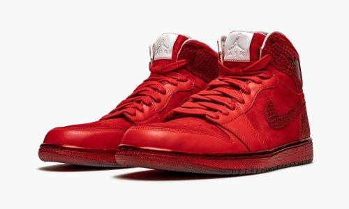 Jordan 1 Retro High  Legends of Summer Red Suede