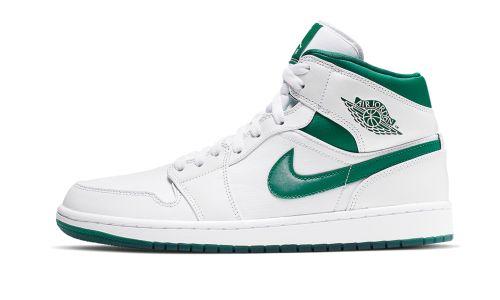 Air Jordan 1 Mid  Mystic Green