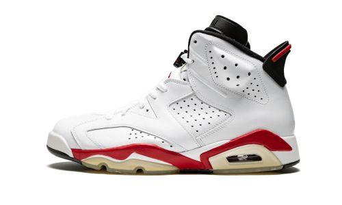 Air Jordan 6 Retro  White/Varsity Red