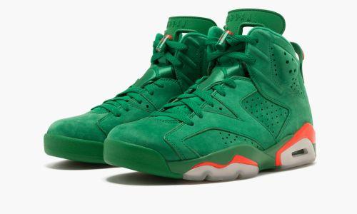 Air Jordan 6 Retro NRG  Green Suede Gatorade