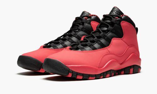 Girls Air Jordan 10 Retro (GS)  Fusion Red