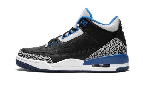 Air Jordan 3 Retro  Sport Blue