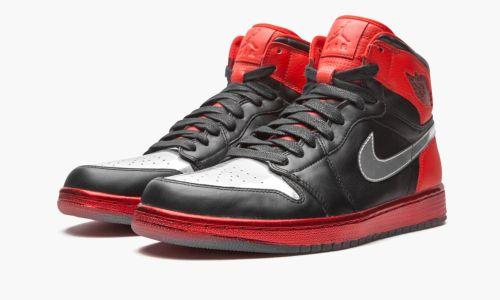 Air Jordan 1 Retro High  Legend of the Summer - Black/Leather